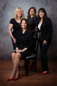 From left to right: Judy Gold- Coldwell Banker, Diane Simovich- Balanced Living Solutions, Pam Duda- Lifescapes Professional Coaching , Dana Lane- Dana Lane Photography